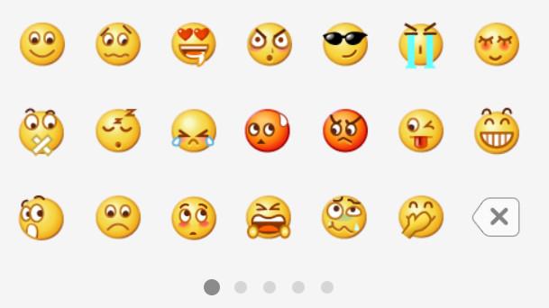 emoji表情比心疑惑表情包关于的图片