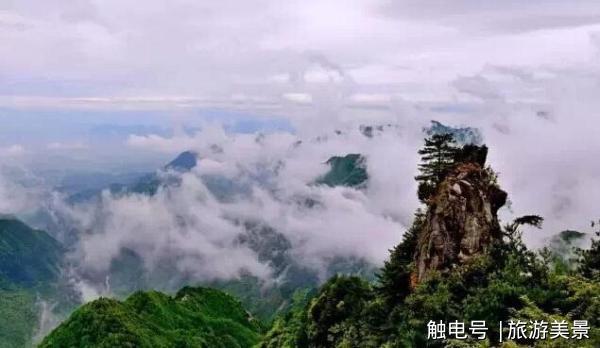 老君山旅游风景区位于陕西省商洛市洛南县巡检镇.