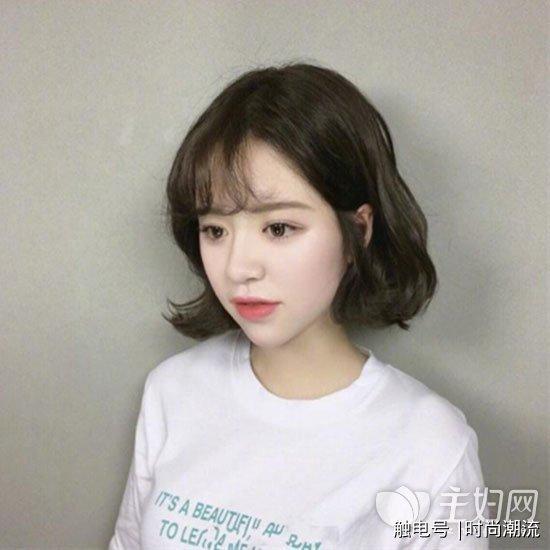韩国短发发型图片 时尚短发值得换上图片