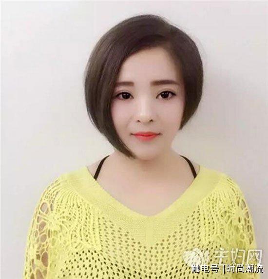 女生短发发型图片图片
