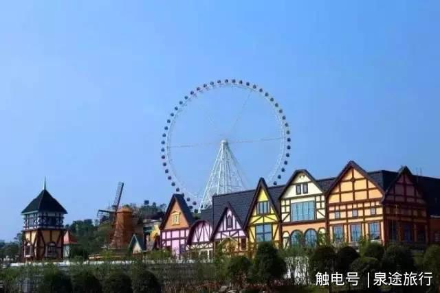 可以去雀儿山乘坐摩天轮欣赏柳州的风景.
