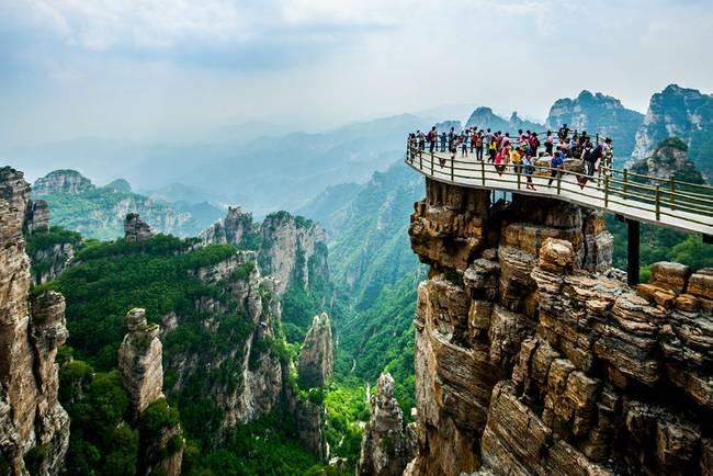 推荐 河北省保定市白石山景区  白石山风景区又称白石山国家地质公园