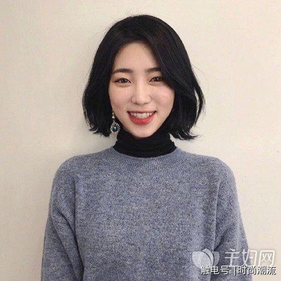 2018女生短发发型图片 短发烫发优雅显气质