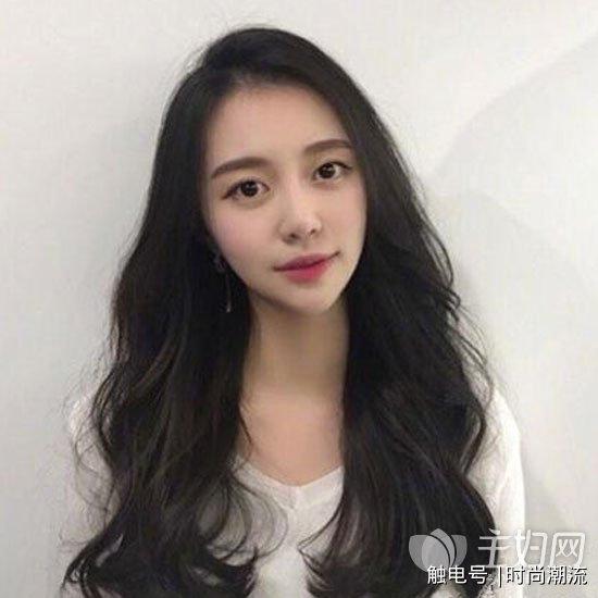 韩式卷发中长发 中长发烫发发型带你美出新高