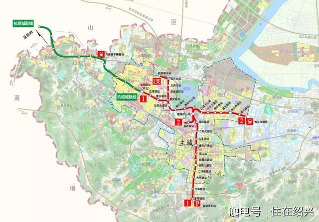 绍兴城区地图高清版