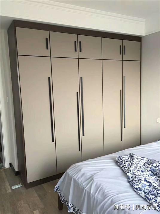17款卧室衣柜完工效果图,最后两款省了房门了