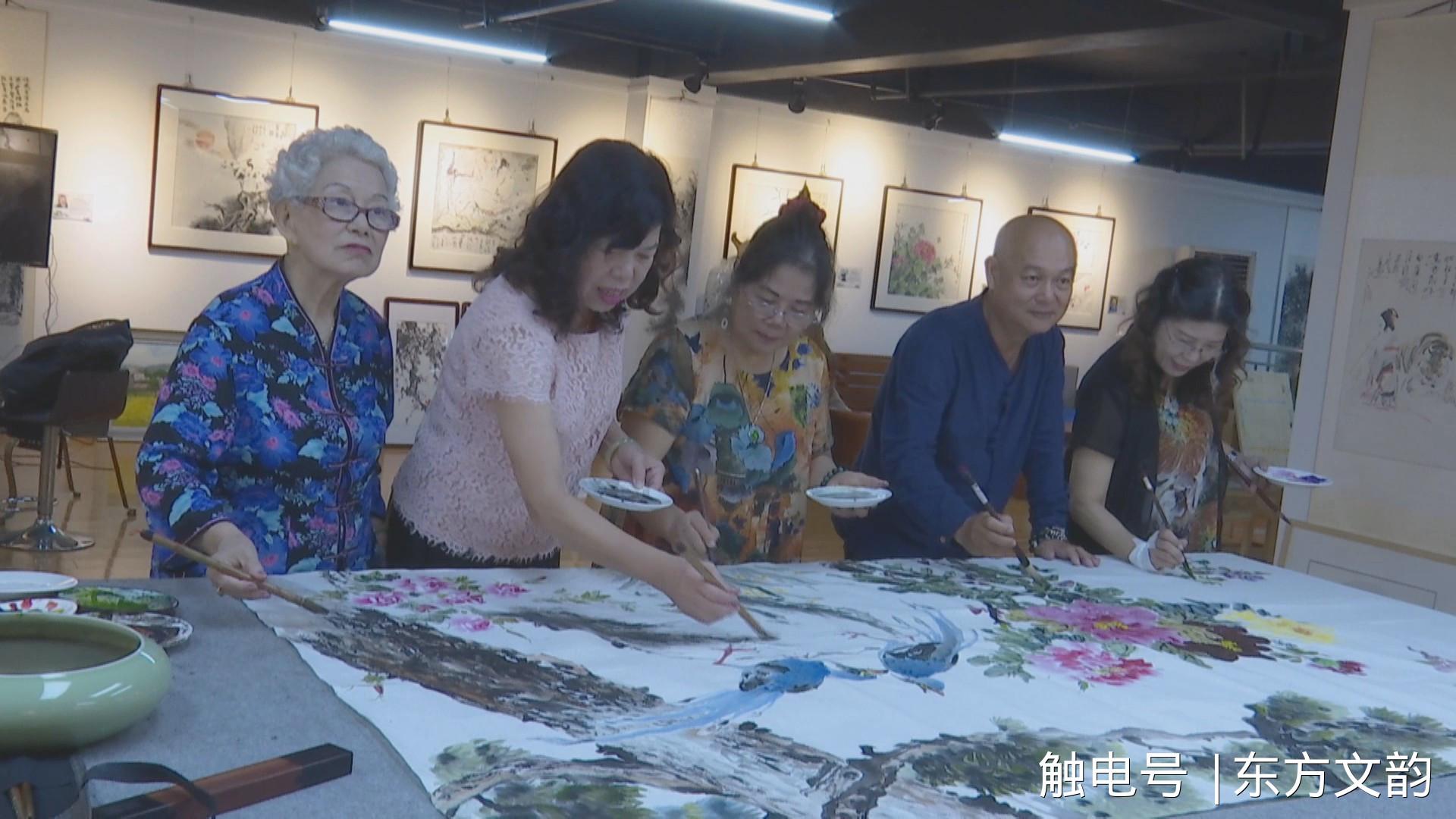 台湾艺术家黄素梅 王丽蓉 秦来香 柯沛鸿 陈嫦娥