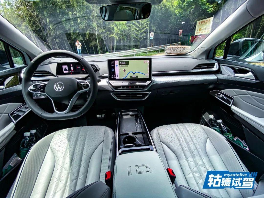 轱辘试驾|上汽大众ID.6X:可能是纯电7座SUV的最优选